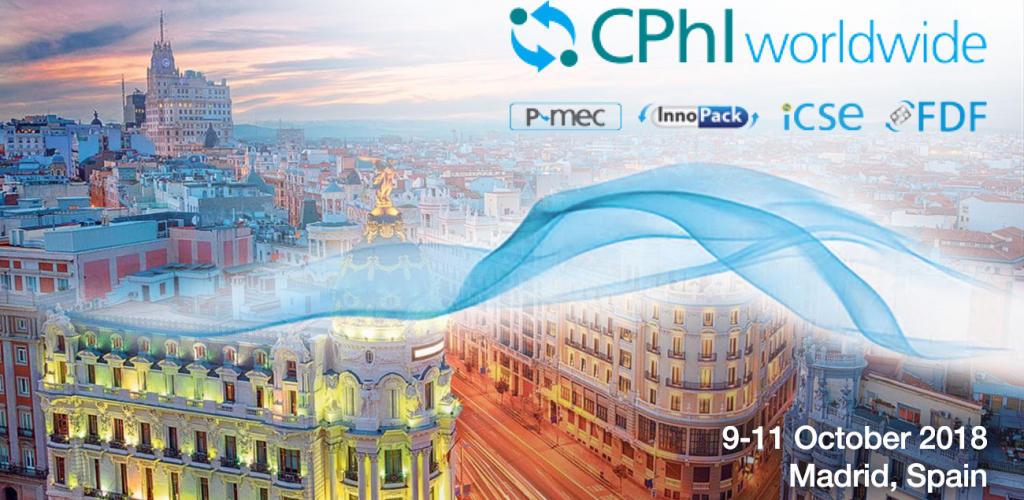Cphi Oct 2018 Cphi Worldwide Madrid Spain Trade Show