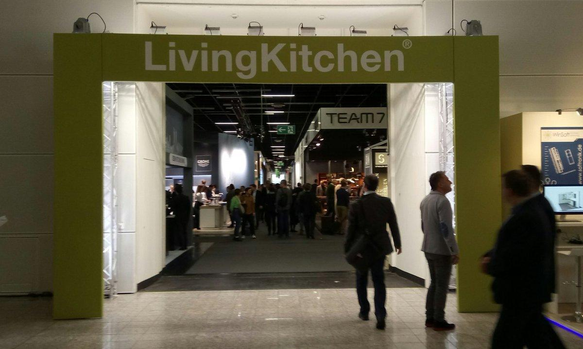 Living Kitchen Jan 2023 Cologne Germany Trade Show